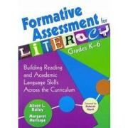formative assessment for literacy, grades k-6,building reading and academic language skills across the curriculum - alison bailey - sage pubns