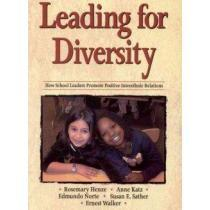 portada Leading for Diversity: How School LEaders Promote Interethnic Relations (libro en Inglés)