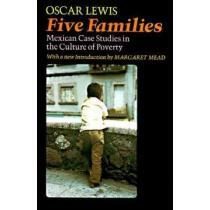 portada five families,mexican case studies in the culture of poverty