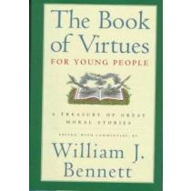 portada the book of virtues for young people,a treasury of great moral stories