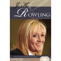 portada j. k. rowling,extraordinary author
