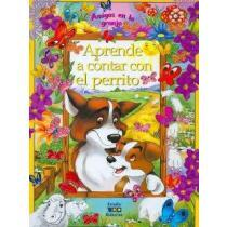 portada aprende a contar con el perrito/ learning to count with the little dog