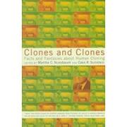 clones and clones,facts and fantasies about human cloning - martha c. (edt) nussbaum - w w norton & co inc