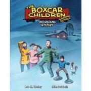 the boxcar children graphic novels 7,snowbound mystery - rob m. worley - abdo group