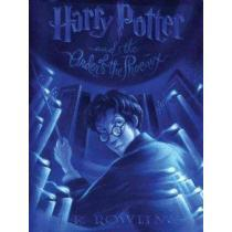 portada harry potter and the order of the phoenix