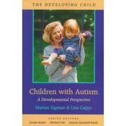 children with autism,a developmental perspective - marian sigman - harvard univ pr