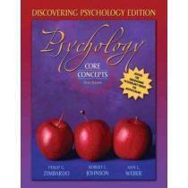 portada psychology,core concepts, discovering psychology edition