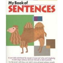 portada my book of sentences,ages 6, 7, 8