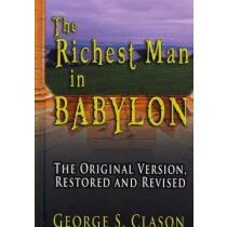 portada the richest man in babylon,the original version, restored and revised
