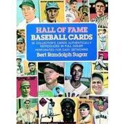 hall of fame baseball cards - bert r. (edt) sugar - dover pubns