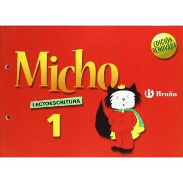 portada Micho 1 Lectoescritura