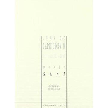 portada Luna de capricornio (antologia 1981-2006)