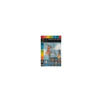 portada Cuaderno de verano, 2 Educación Primaria, 1 ciclo