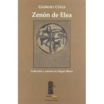 portada Zenon De Elea (Ensayo Sexto Piso)