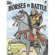 horses in battle - john green - dover publications
