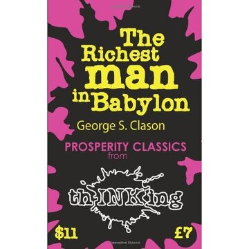 portada the richest man in babylon (thinking classics)