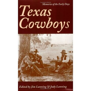 portada texas cowboys: memories of the early days