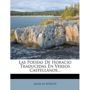 portada las poes as de horacio traducidas en versos castellanos...
