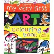 my very first art book (infantil) - rosie dickins - usborne ingles