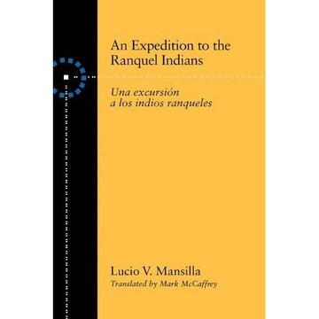 portada an expedition to the ranquel indians: excursion a los indios ranqueles