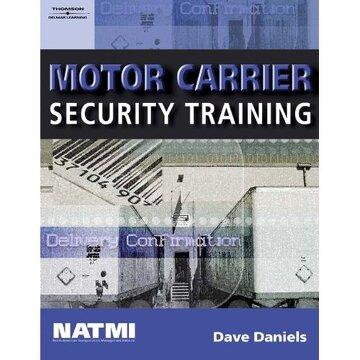 portada motor carrier security training, student workbook