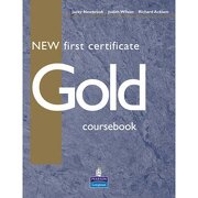 new first certificate gold coursebook - varios autores -