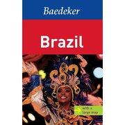 brazil baedeker guide -  - mairs geographischer verlag,kurt ma