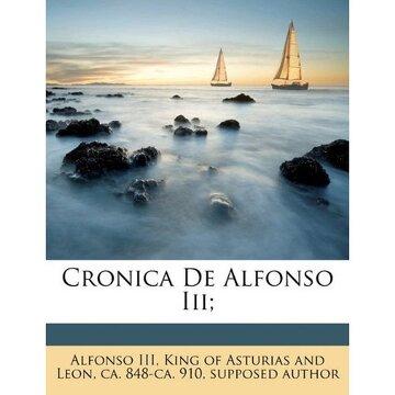portada cronica de alfonso iii;