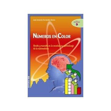portada Números en color: Acción y reacción en la enseñanza-aprendizaje de la matemática (Ciudad de las Ciencias)