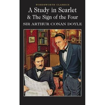 portada a study in scarlett and the sign of the four