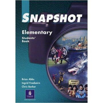 portada snapshot student book elem