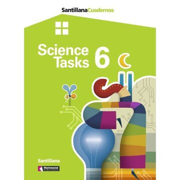 portada Santillana Cuadernos Science Tasks 6 Santillana Richmond