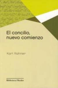 portada El Concilio, Nuevo Comienzo (Biblioteca Herder)