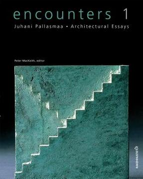 portada encounters 1 - architectural essays
