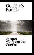 Goethe's Faust - von Goethe, Johann Wolfgang - BiblioLife