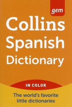 portada collins gem spanish dictionary