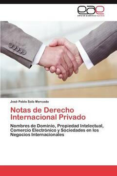 portada notas de derecho internacional privado