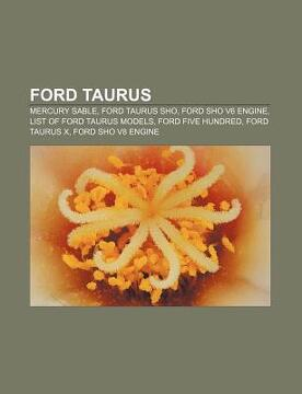portada ford taurus: mercury sable, ford taurus sho, ford sho v6 engine, list of ford taurus models, ford five hundred, ford taurus x, ford