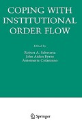 Coping with Institutional Order Flow - Schwartz, Robert A. - Springer