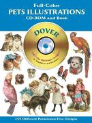 Pets Illustrations [With CDROM] - Dover Publications Inc - Dover Publications