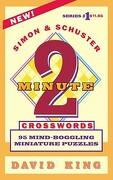 simon & schuster`s two-minute crosswords - david king - textstream