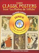"120 Classic Posters from ""Les Maitres de L'Affiche"" [With CDROM] - Dover Publications Inc - Dover Publications"