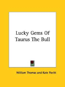 portada lucky gems of taurus the bull