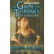portada george r. r. martin´s a game of thrones card game,secrets and spies chapter pack