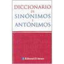 portada dicc.de sinónimos y antónimos