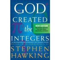 portada god created the integers,the mathematical breakthroughs that changed history