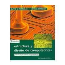 portada Estructura y diseño de computadores. (1 ed) Volumen 3