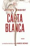 Carta blanca; jeffery deaver