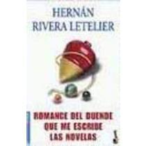 portada romance del duende que me escribe las novelas