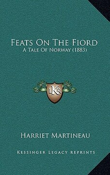 portada feats on the fiord: a tale of norway (1883)